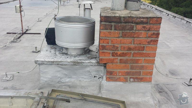 Renovace ploché střechy: 20140711_120503