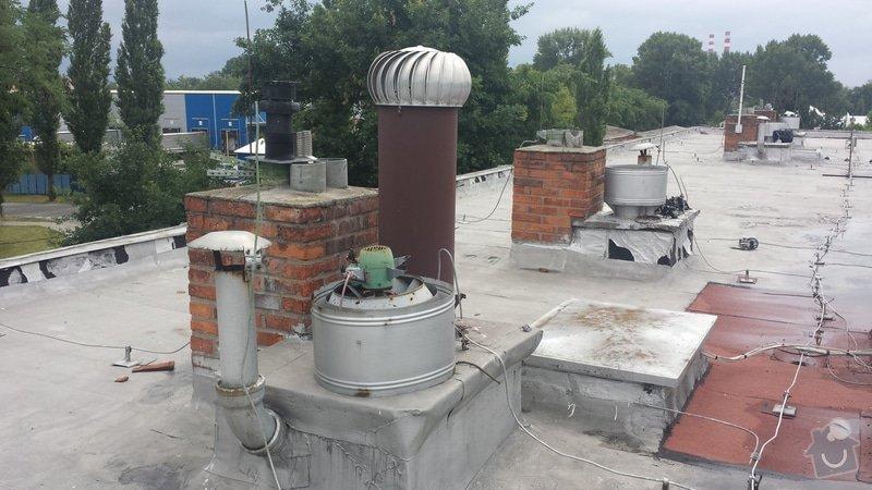 Renovace ploché střechy: 20140711_120602