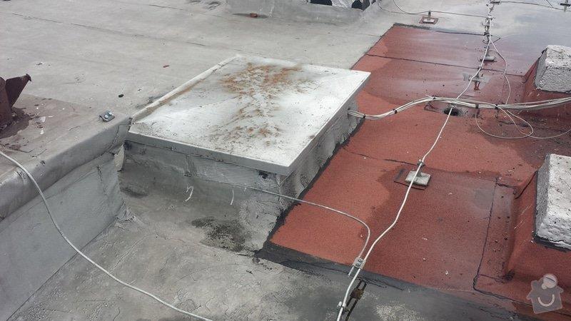 Renovace ploché střechy: 20140711_120614