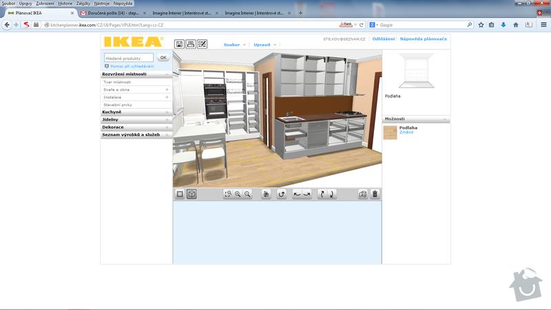 Výroba kuchyňské linky: kuchyn_otevrena