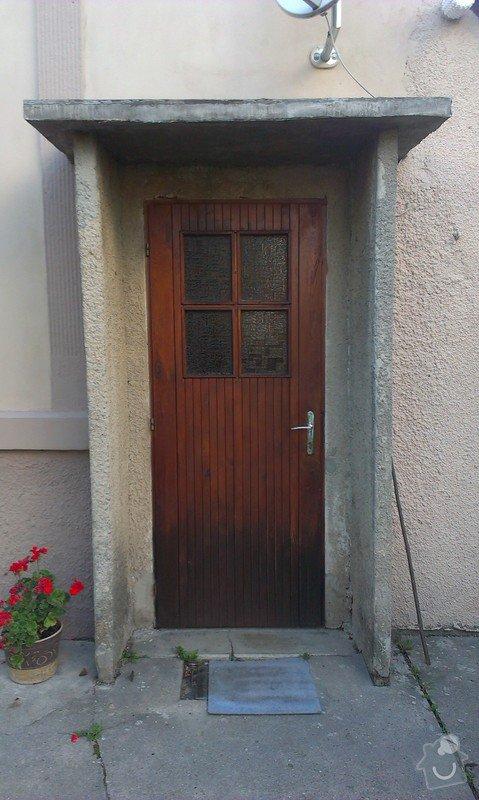 Dodávka a montáž plastových vchodových dveří: IMAG0010