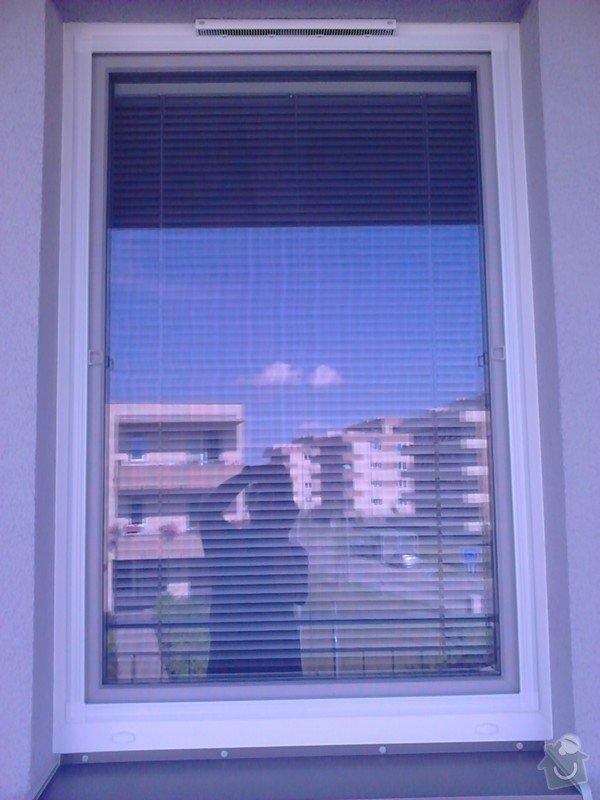Žaluzie (3 okna + balkon), síť proti hmyzu (2 okna): DSC_0169
