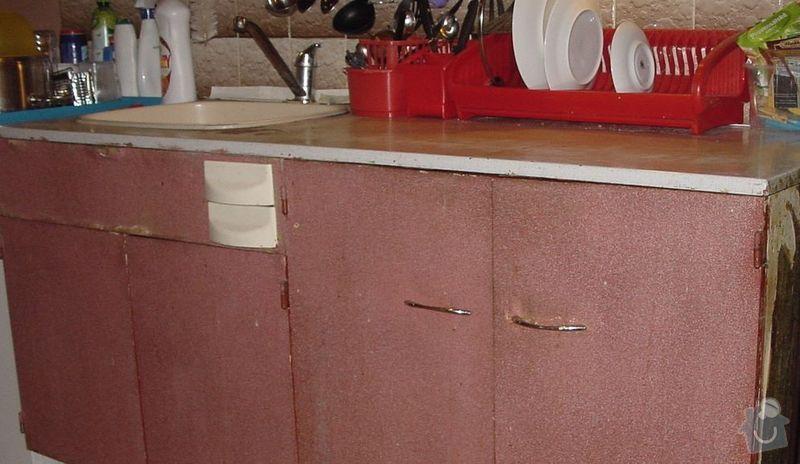 Výměna kuchyňské desky: deska2