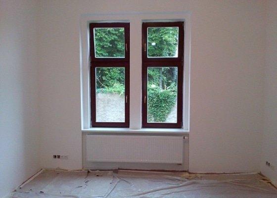 Renovace omítek, vymalování bytu