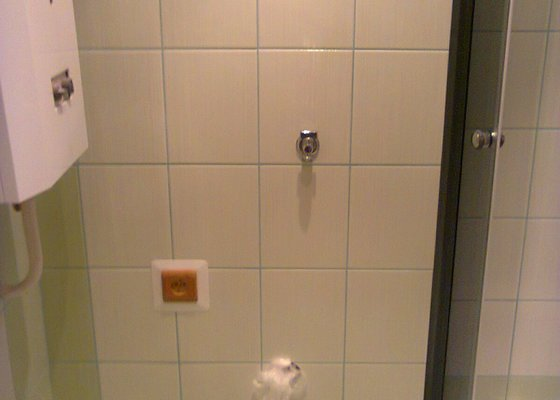 Rekonstrukce koupelny+wc.Panelový dům