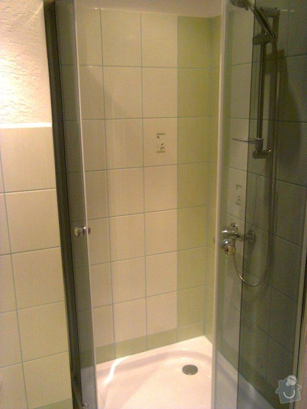 Rekonstrukce koupelny+wc.Panelový dům: fotografie0029