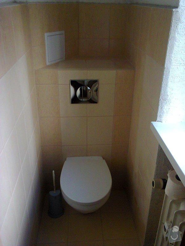 Rekonstrukce koupelny+wc.Panelový dům: fotografie76