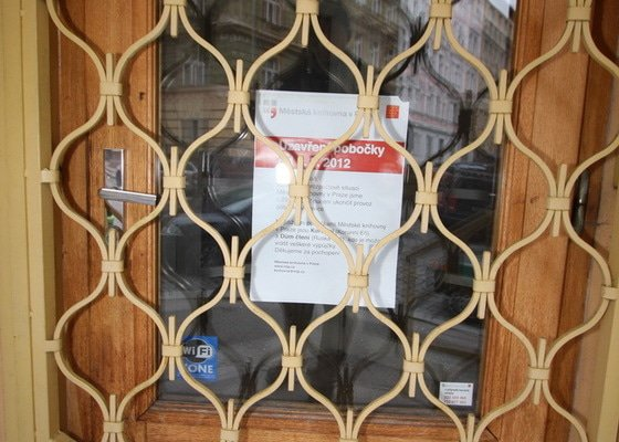 Zhotovení mříže na vchodové dveře