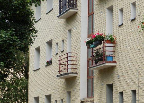 Zateplení a fasáda bytového domu