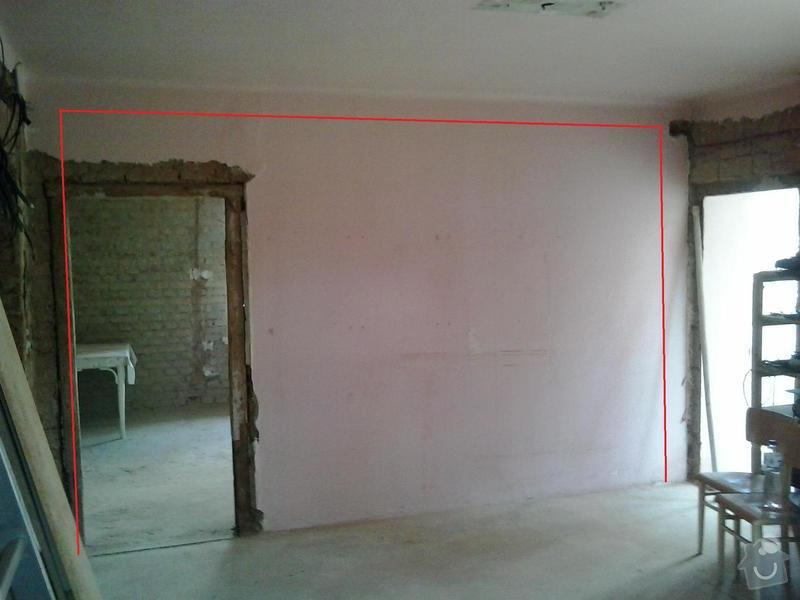Ubourání cihlové stěny (nenosné): 20140724_150356