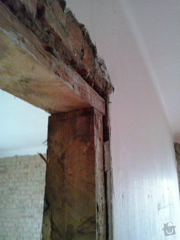 Ubourání cihlové stěny (nenosné): 20140724_150434