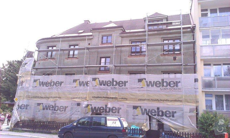 Fasádu bytového domu: IMAG0714