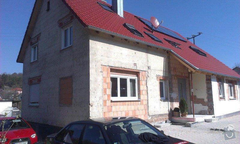 Zhotovení zateplovací fasády minerální vatou: IMAG0592