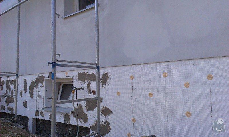 Zhotovení zateplovací fasády minerální vatou: IMAG0782
