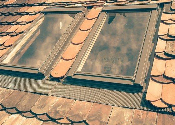 Oprava střechy a výměna střešního okna