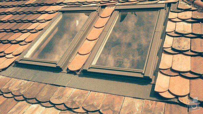 Oprava střechy a výměna střešního okna: IMG_20140724_205517