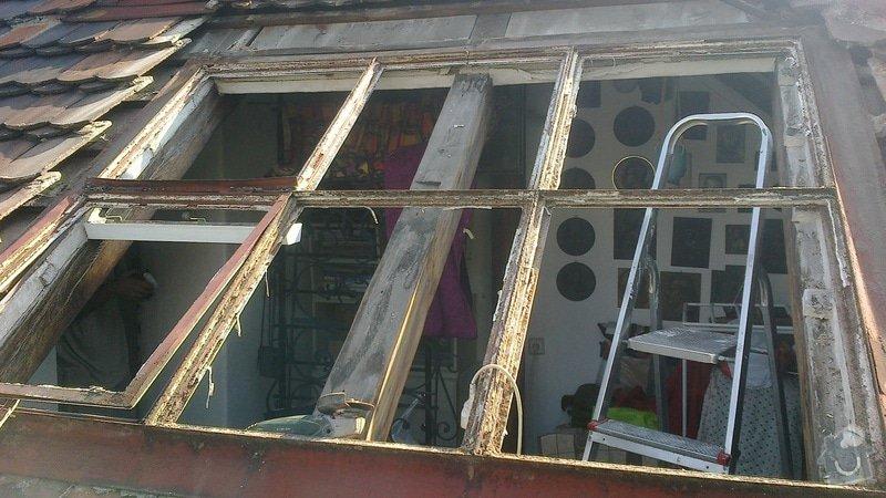 Oprava střechy a výměna střešního okna: 2014-07-15-146