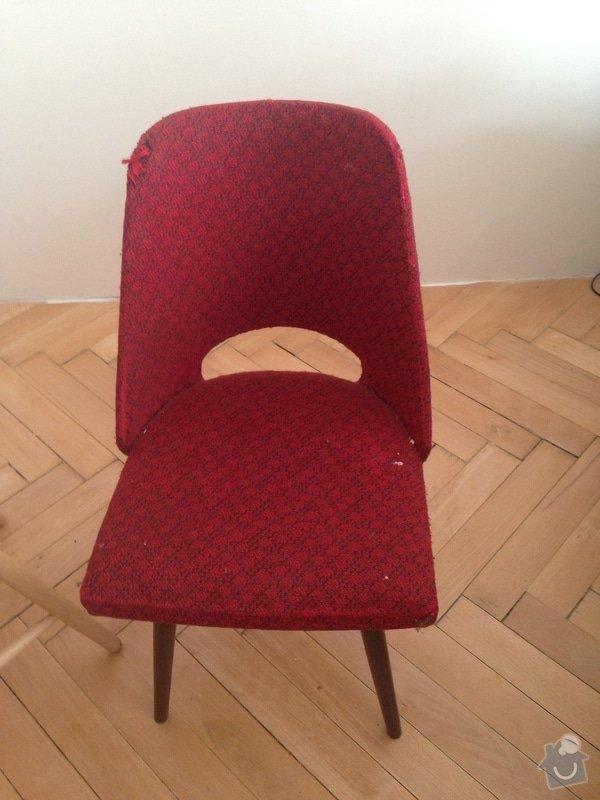 Čalounění židlí. : obrazek_1