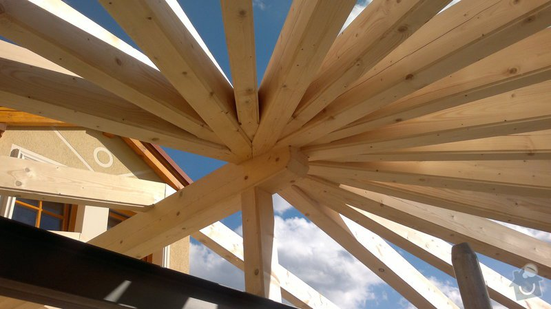 Střecha na klíč - včetně sřešních oken a klempířských prvků: C7_151