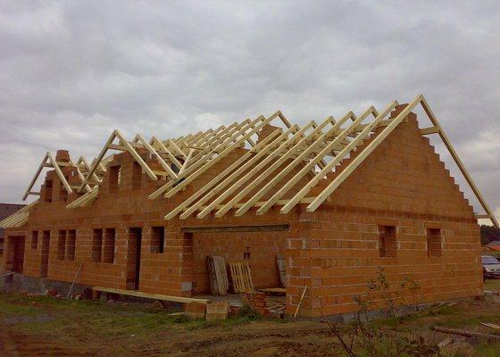 Střecha na klíč - včetně sřešních oken a klempířských prvků