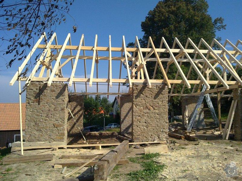 Střecha na klíč - včetně sřešních oken a klempířských prvků: C7_052