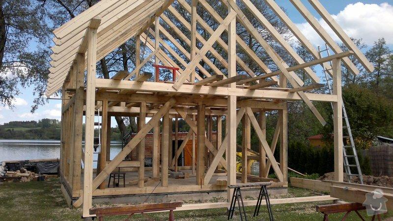 Střecha na klíč - včetně sřešních oken a klempířských prvků: C7_142