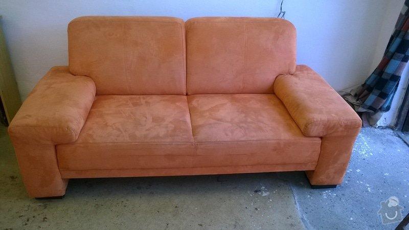Renovace čalouněné sedačky 3+2+2: WP_20140718_002