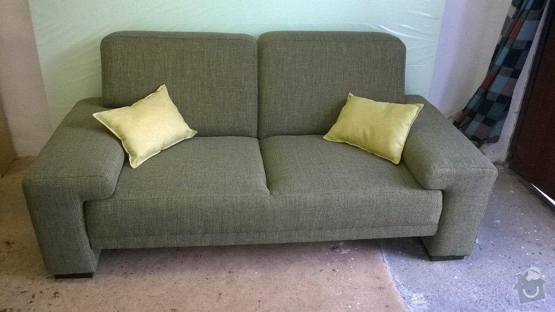 Renovace čalouněné sedačky 3+2+2: WP_20140722_002