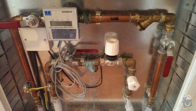 Voda/Topení: Výměna těsnění a vyčištění filtrů.: ukazka