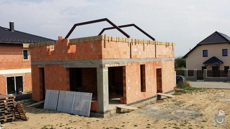 Hrubá stavba RD z keramických cihel HELUZ: 20140721_103102_resize