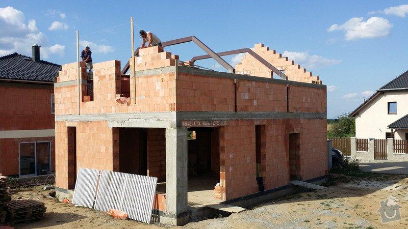 Hrubá stavba RD z keramických cihel HELUZ: 20140722_172318_resize