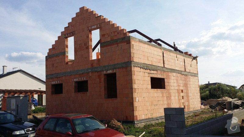 Hrubá stavba RD z keramických cihel HELUZ: 20140722_173612_resize