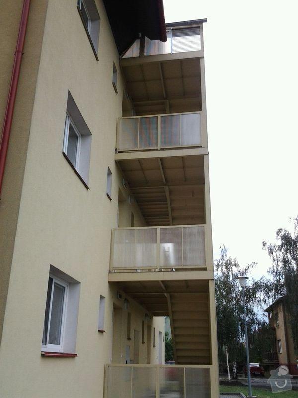 Zasklení schodiště - balkonové lodžie: 20140711_170600_resized