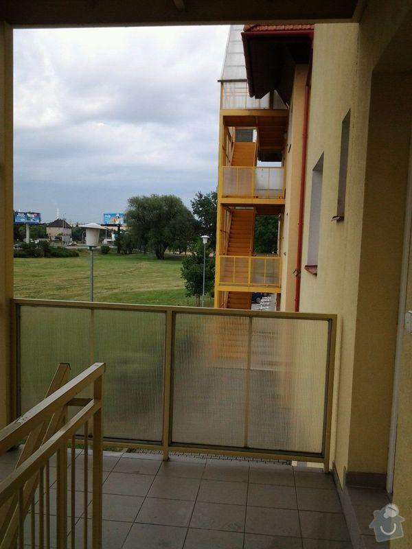 Zasklení schodiště - balkonové lodžie: 20140711_170713_resized