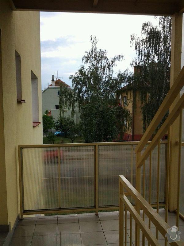 Zasklení schodiště - balkonové lodžie: 20140711_170720_resized