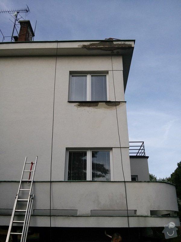 Oprava fasády RD: CAM00718