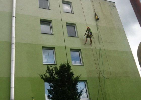 Čištění fasády