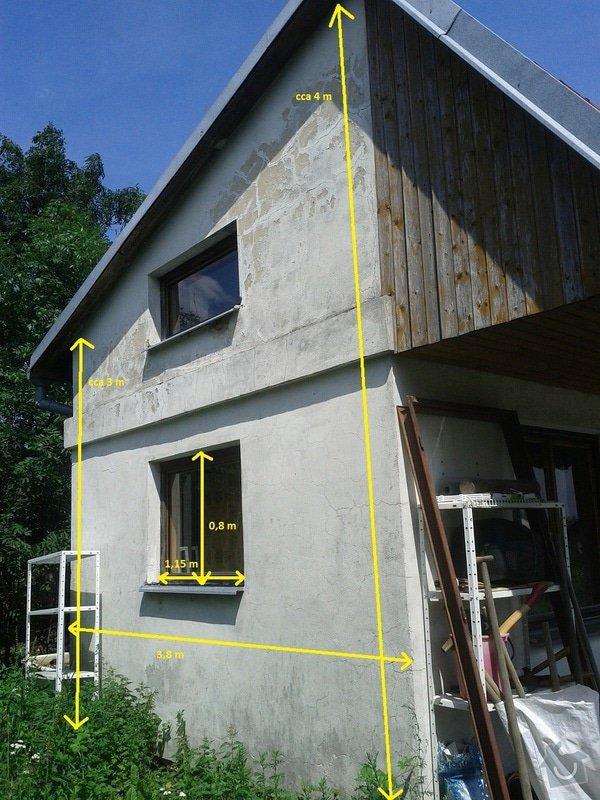 Zednické a instalatérské práce na chatě v Kletné: zed_2