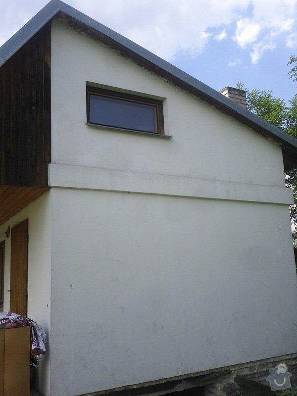 Zednické a instalatérské práce na chatě v Kletné: zed_3