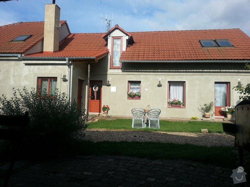 Kompletni fasadu na RD: 20140724_182520