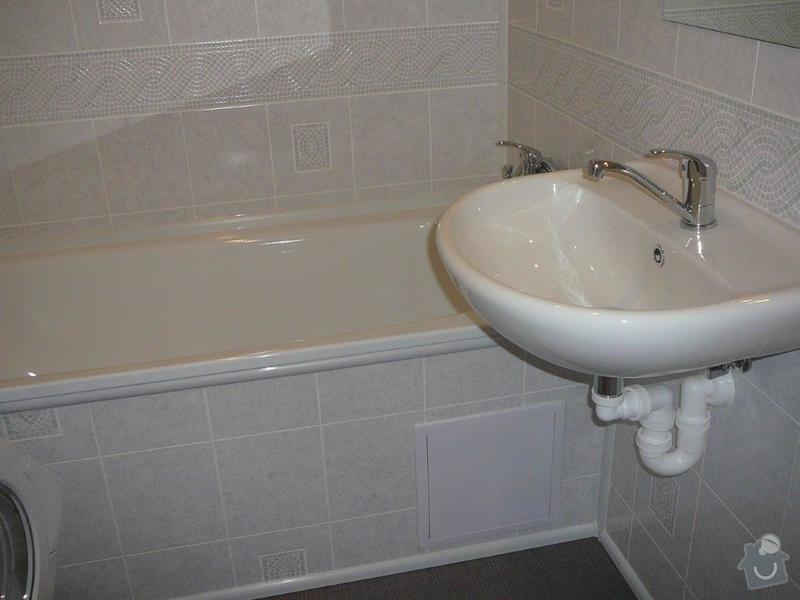 Rekonstrukce umakartové koupelny a WC: P1130180