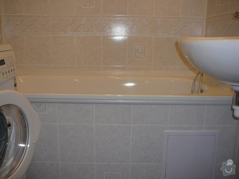 Rekonstrukce umakartové koupelny a WC: P1130186