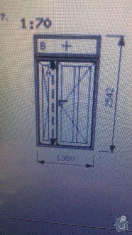 Výroba a montáž venkovních dveří: DSC_0998