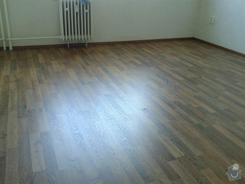 Výměná staré podlahy (skládané parkety) za plovoucí podlahu: 20140718_125715