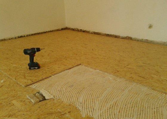 Renovace a pokládka nových parket, 2 pokoje, 60m2
