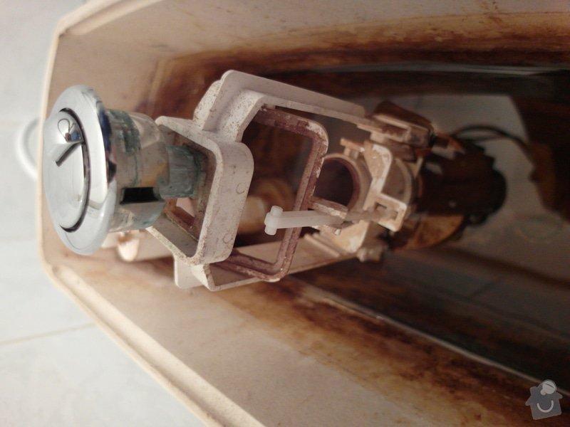 Oprava/výměna splachovacího zařízeni WC: SAM_0391