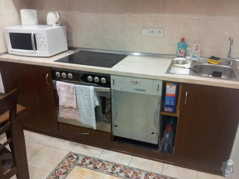 Úprava kuchyňské linky: 20140729_151020