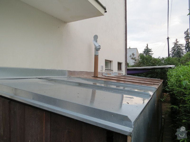 Nátěr kovových prvků na domě: IMG_3468