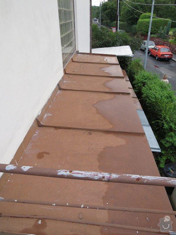 Nátěr kovových prvků na domě: IMG_3471