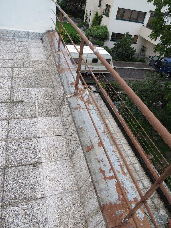 Nátěr kovových prvků na domě: IMG_3473